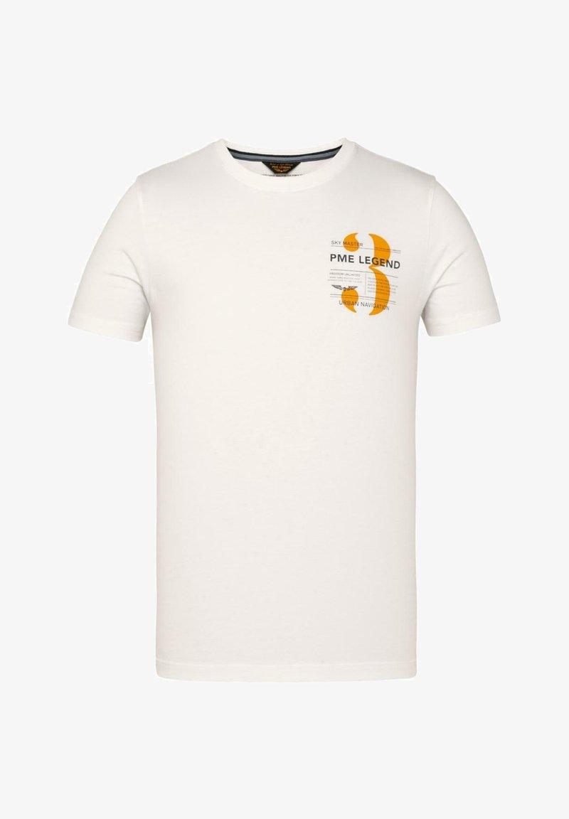 PME Legend - Print T-shirt - white