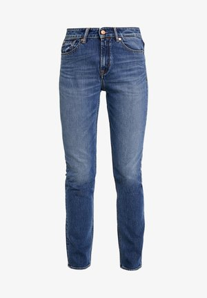 YAMA - Jeansy Slim Fit - xavier medium used