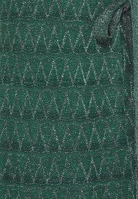 M Missoni - SLEEVELESS LONGDRESS - Společenské šaty - forest green - 2
