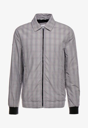 EDIT COLLARED HARRINGTON - Lehká bunda - grey check