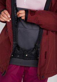 Volcom - SHELTER - Snowboard jacket - scarlet - 4
