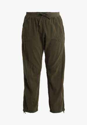 MMARRAKESH LONG PANT - Trousers - ivy green