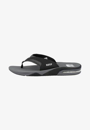 T-bar sandals - grey swells