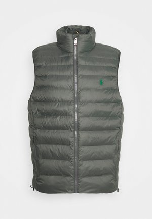 TERRA VEST - Waistcoat - charcoal grey