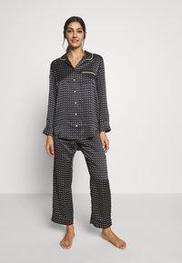 ASCENO - THE ANTIBES - Pyjama bottoms - black - 1