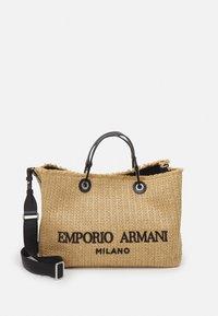 Emporio Armani - MY LOGO HANDBAG SET - Sac à main - naturale/nero - 2