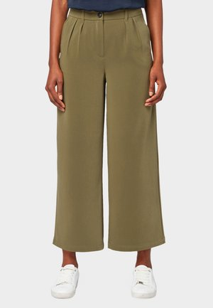 CULOTTE  - Trousers - olive