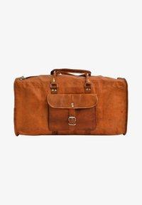 Gusti Leder - Weekend bag - brown - 1