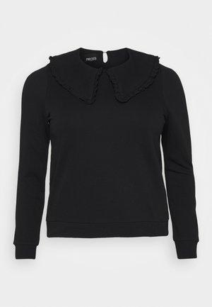 PCTANJA TOP - Sweatshirt - black
