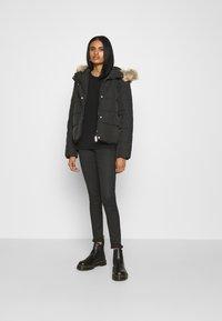 JDY - Winter jacket - black - 1