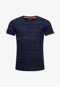 Superdry - Basic T-shirt - midnight navy space dye - 3