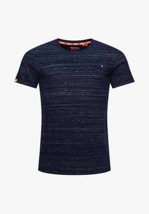 T-Shirt basic - midnight navy space dye