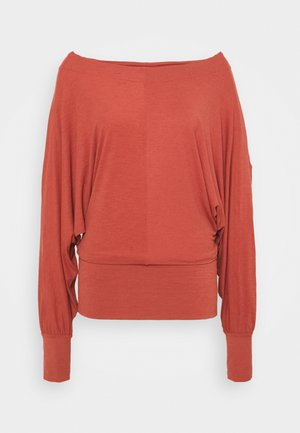 SKY HIGH LONG SLEEVE - Long sleeved top - autumn spice