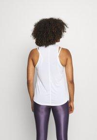 Nike Performance - ONE TANK - Topper - white/black - 2