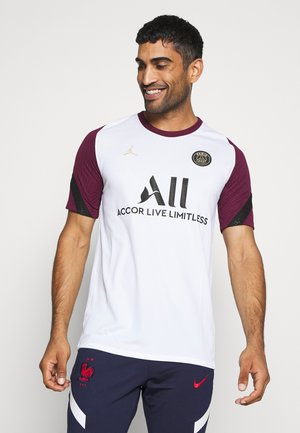 PARIS ST GERMAIN  - Club wear - white/bordeaux/black/truly gold