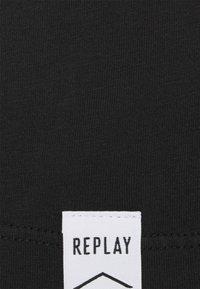 Replay - T-shirt basic - blackboard - 2