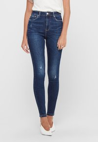 ONLY - ONLMILA - Jeans Skinny Fit - dark blue denim - 0