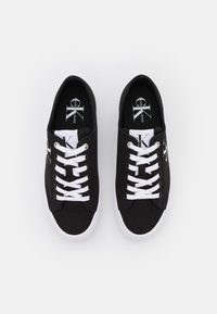 Calvin Klein Jeans - FLATFORM LACEUP - Trainers - black - 5