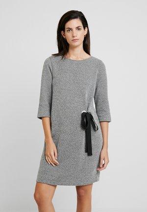 Abito in maglia - black/grey