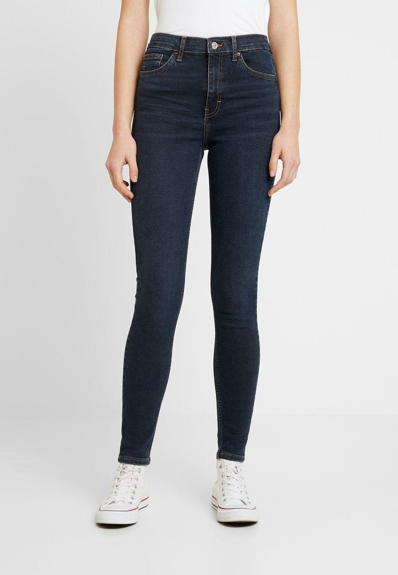 Topshop - JAMIE - Jeans Skinny Fit - blue black