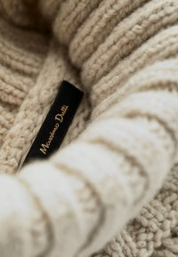 Massimo Dutti - MIT ZOPFMUSTER LIMITED EDITION  - Sweter - beige - 4