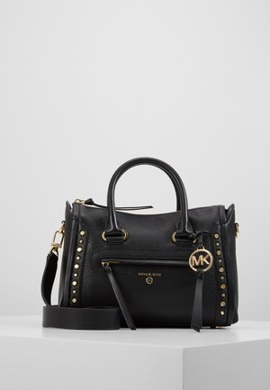 CARINE SATCHELPEBBLE - Handbag - black