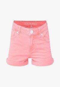 WE Fashion - WE FASHION MEISJES SKINNY FIT DENIMSHORT - Jeansshort - pink - 2