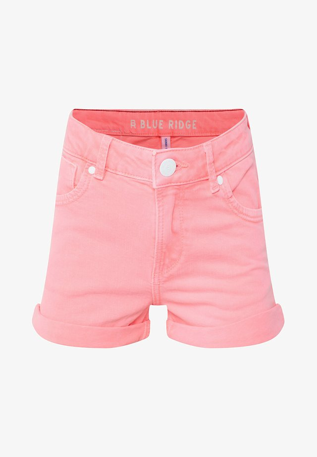 WE FASHION MEISJES SKINNY FIT DENIMSHORT - Szorty jeansowe - pink