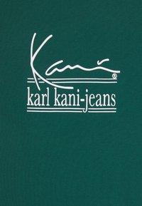 Karl Kani - UNISEX SIGNATURE TEE - T-shirt con stampa - green - 6