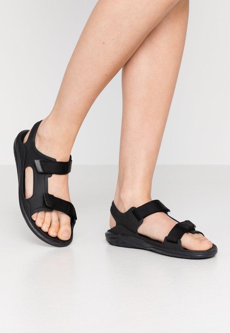 Crocs - SWIFTWATER EXPEDITION MOLDED - Sandalias - black