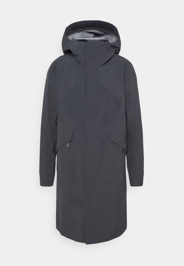 SANDRA COAT WOMEN'S - Waterproof jacket - black heather