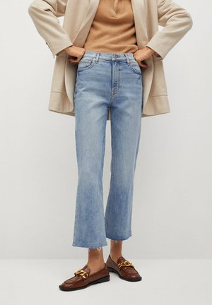 SIENNA - Flared Jeans - medium blue
