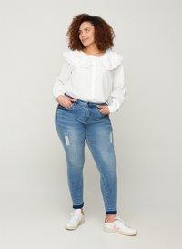 Zizzi - Button-down blouse - white - 1