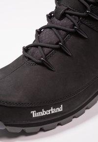 Timberland - EURO SPRINT HIKER - Botines con cordones - black - 5