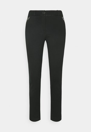 PONTE TROUSER - Trousers - black