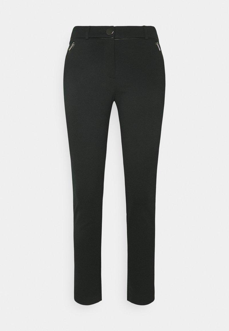 Wallis Petite - PONTE TROUSER - Trousers - black