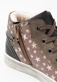 Friboo - Sneakersy wysokie - dark gray - 2
