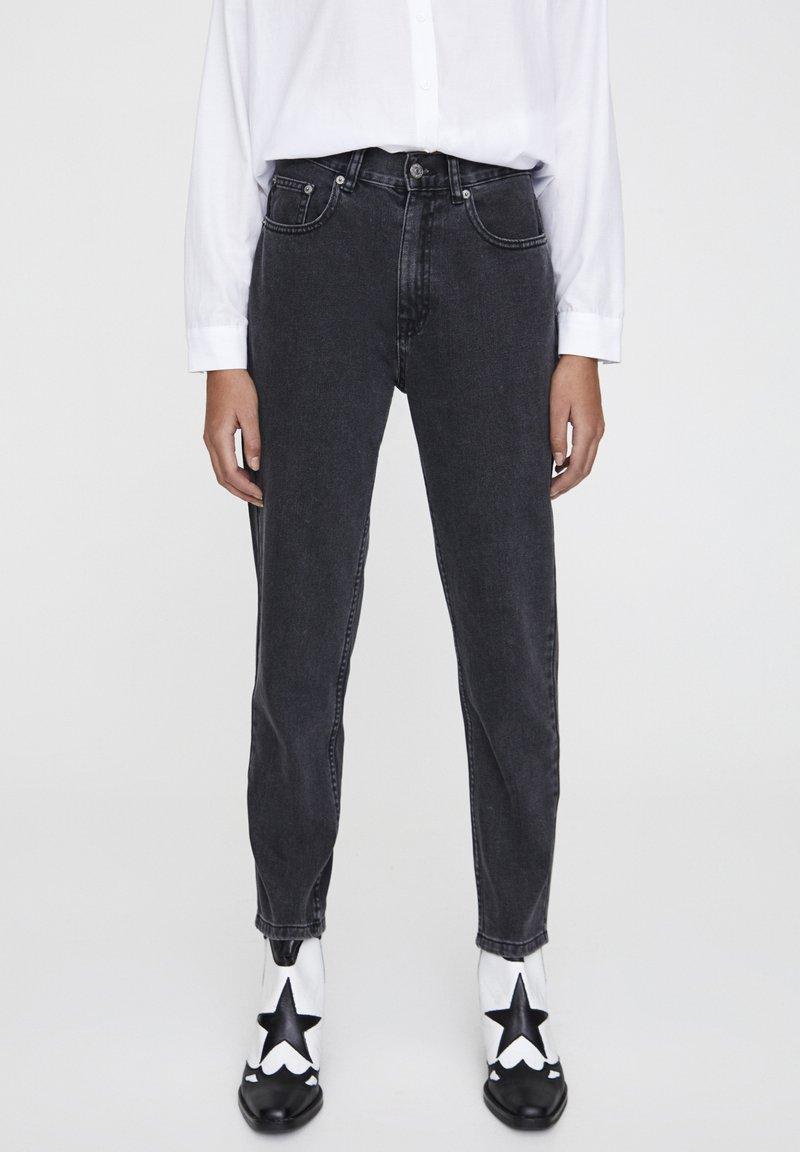 PULL&BEAR - Slim fit jeans - mottled dark grey