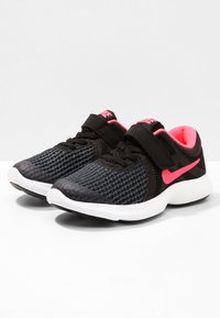 Nike Performance - REVOLUTION 4 - Neutral running shoes - black/white/racer pink - 2