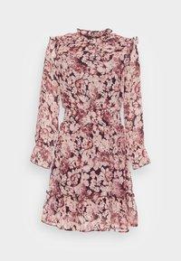 ONLY - ONLSKYE SMOCK DRESS - Day dress - rose browntonal - 3