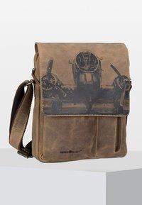 Greenburry - VINTAGE - Across body bag - brown - 0