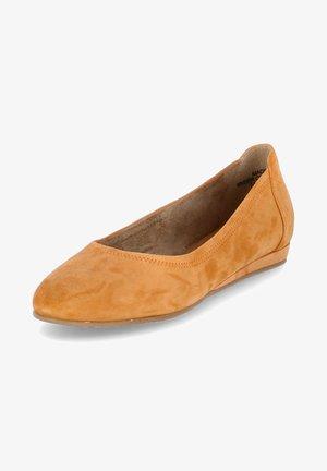Ballet pumps - gelb-orange