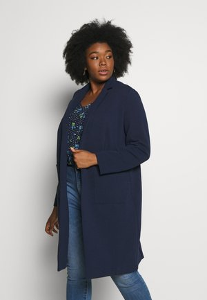 EASY COAT - Classic coat - real navy blue