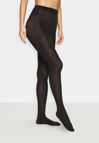 Pour Moi - SILHOUETTE TOUCH 2 PACK - Tights - black - 0