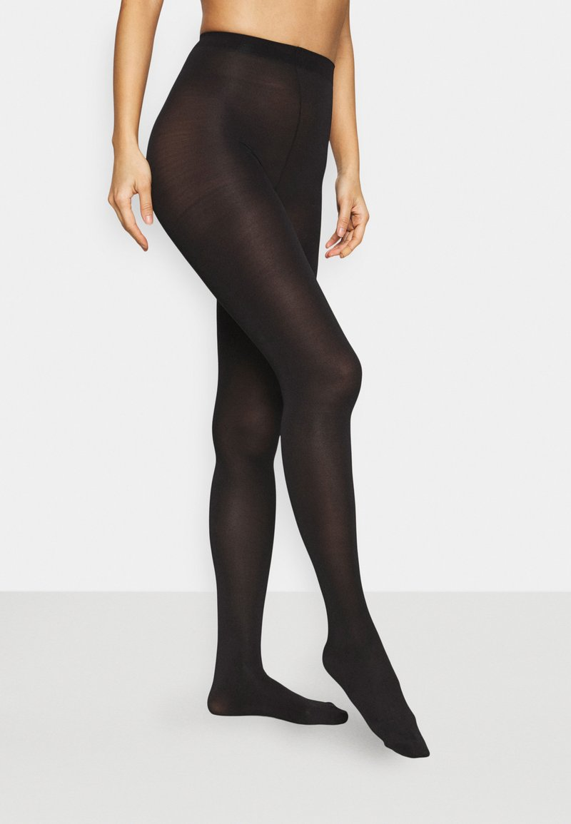 Pour Moi - SILHOUETTE TOUCH 2 PACK - Tights - black