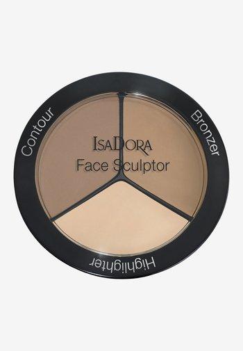 FACE SCULPTOR - Face palette - nude