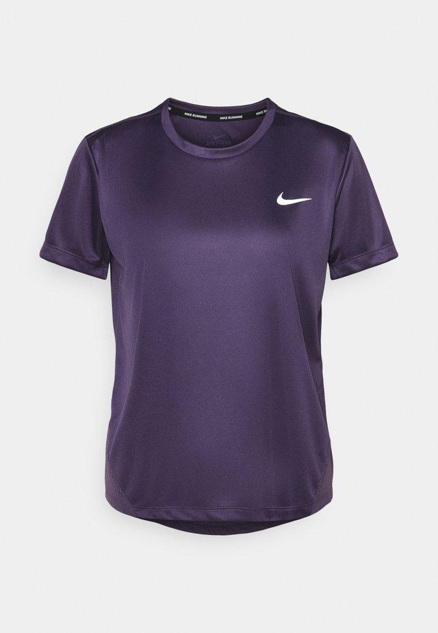 MILER - T-shirt imprimé - dark raisin