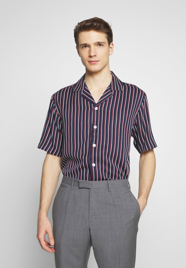 STRIPED RESORT  - Camisa - dark blue