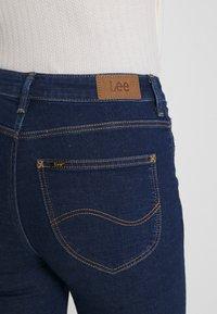 Lee - SCARLETT HIGH - Jeans Skinny Fit - dark blue denim - 4