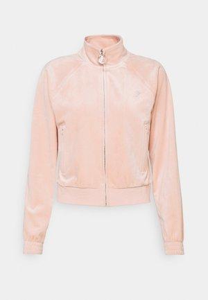 TANYA - Mikina na zip - pale pink